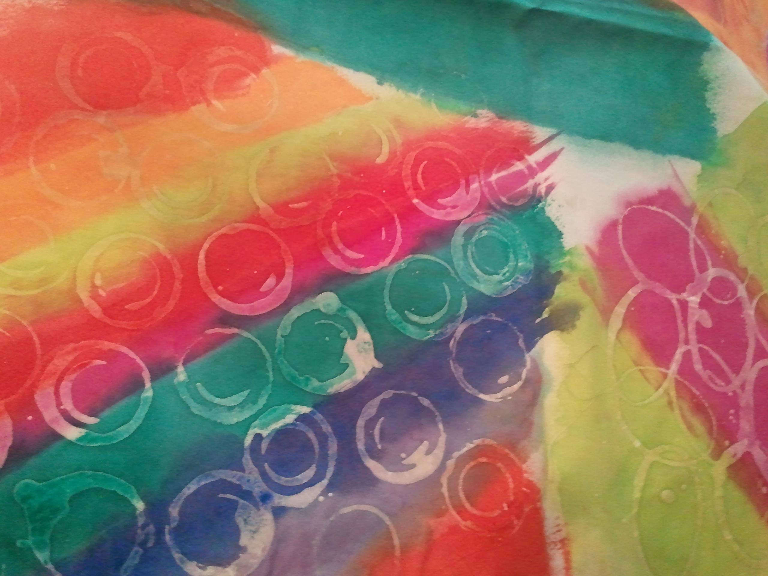 Wax batik fabrics