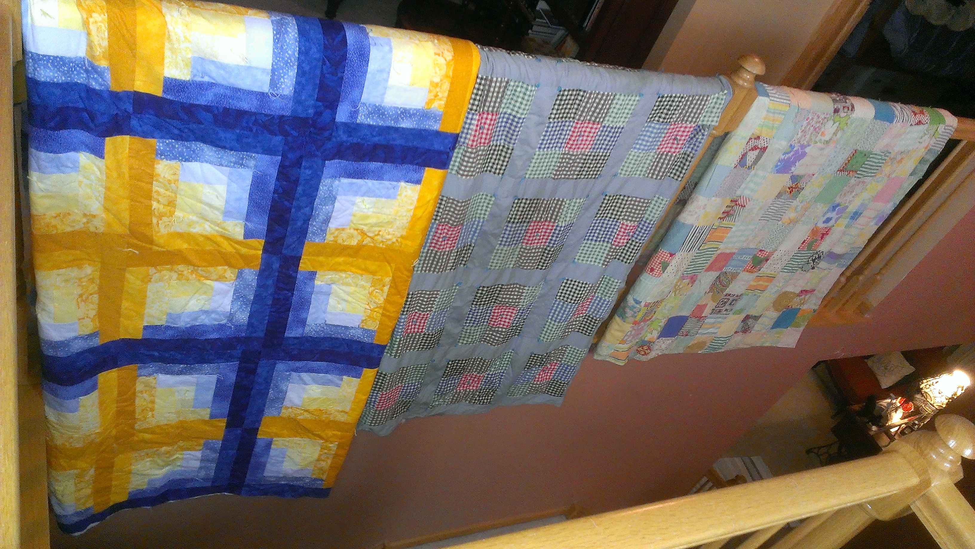 My family quilts