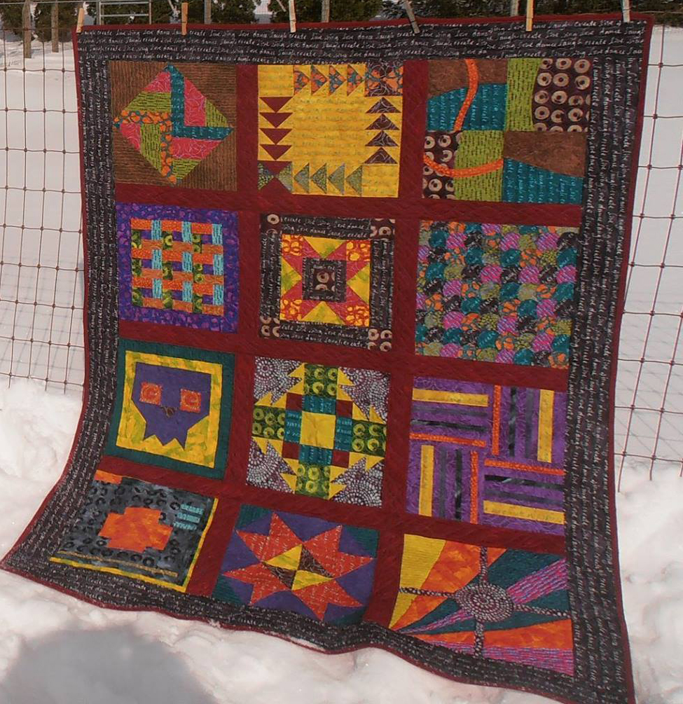 Inked Quilt