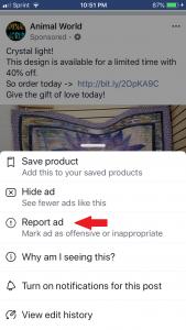 ad report